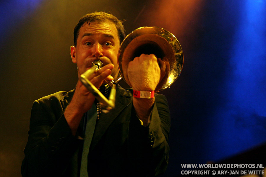 Glen Pine - The Slackers, Patronaat, 2007